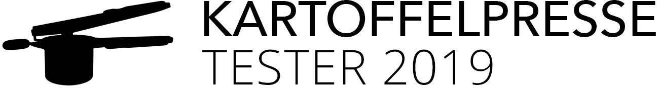 Kartoffelpresse Test 2019 Logo
